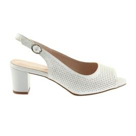 Grey Sandals on the post Sergio Leone 794 silver