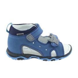 Sandals boys' turnips Bartek 51489 blue