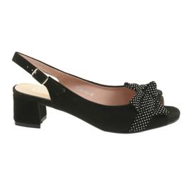 Filippo 788 black / dots sandals
