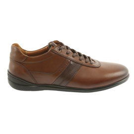Badura 3707 brown sports shoes