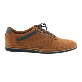 Lightweight Badura 3523 brown sports shoes