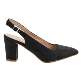 Suede Pumps VINCEZA black