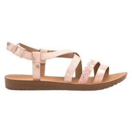 Pink Flat shoes VINCEZA
