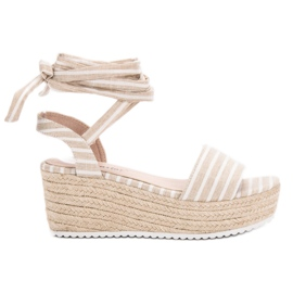 Seastar brown Sandals With Wedge Belts