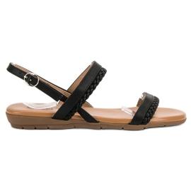 Cm Paris black Casual Sandals