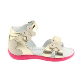 Girls' sandals - butterfly Bartek 51569 zlotys