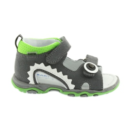 Sandals boys' turnips Bartek 51063 gray