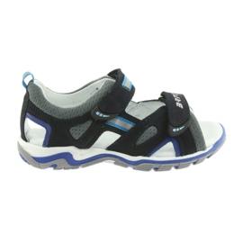 Boys' sandals turnips Bartek navy-gray
