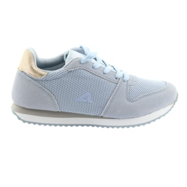 Blue American Club sports shoes