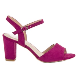 Filippo Sandals In Heels violet