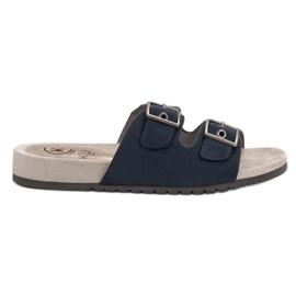 Kylie blue Classic Navy Flip Flops