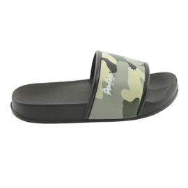Slippers camo profiled American Club green