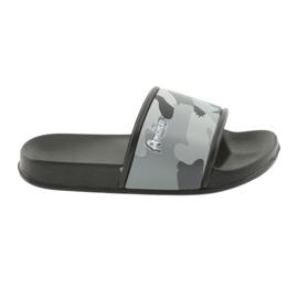 Slippers camo profiled American Club gray