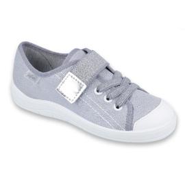 Grey Befado children's shoes 251Y075