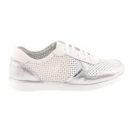 Filippo 737 women's sports shoes white and silver