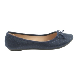 Navy McKey ballerinas slip-in ballerinas