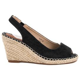 Seastar black Sandals at Koturna
