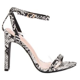 Seastar Sandals Animal Print grey