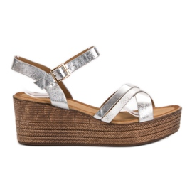 Seastar Light Sandals on Wedge grey