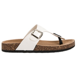 Seastar Comfortable flip-flops white