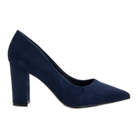Anesia Paris Navy Pumps