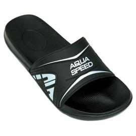 Black Aqua-Speed slippers Dakota M col.7