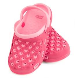 Pink Slippers AQUA-SPEED Itaka Jr 03 496