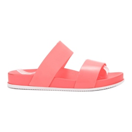 SHELOVET Comfortable Coral Slippers red