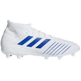 Football boots adidas Predator 19.2 Fg M D97941 white multicolored