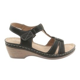 Comfortable women's sandals DK black