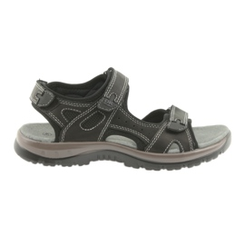 DK sandals black Velcro light EVA bottom