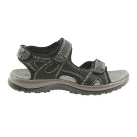 DK sandals black Velcro light EVA bottom