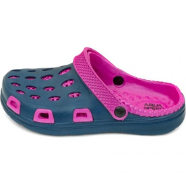 Aqua-speed flaps Silvi kol 49 pink navy blue