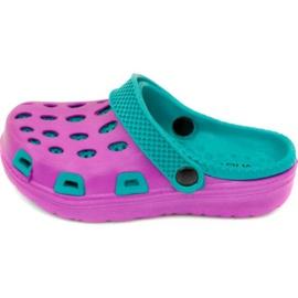 Slippers Aqua-speed Silvi Jr col 09 violet blue