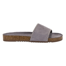 Goodin Suede Flip grey