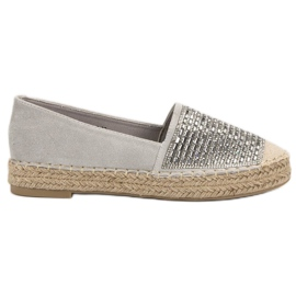 Espadrilles With VICES Cement grey