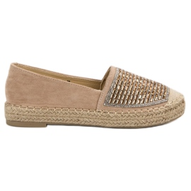 Espadrilles With VICES Cement brown