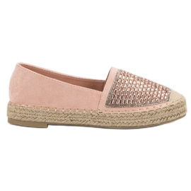 Espadrilles With VICES Cement pink