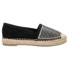 Espadrilles With VICES Cement black
