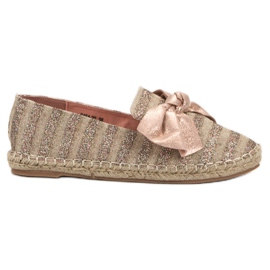 Espadrilles With VICES Brocade pink
