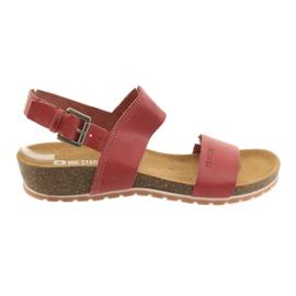 Big Star Red Big women's sandals 274A016
