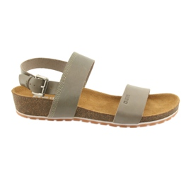 Big Star Women's gray sandals 274A014