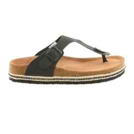 Women's flip-flops Big Star 274132 black