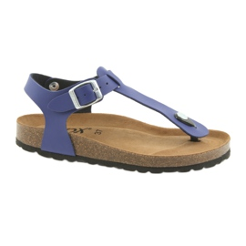 BIOX azul flip-flops blue