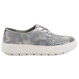 Goodin Light Leather Shoes grey