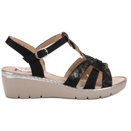 Kylie Light Sandals black