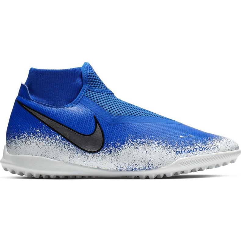 Football shoes Nike Phantom Vsn Academy Df Tf M AO3269-410 multicolored blue