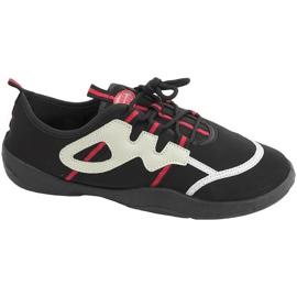 Beach shoes Aqua-speed black gray-red 19A