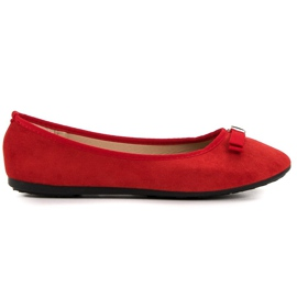 GUAPISSIMA red Ballerina With Brocade