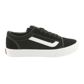 AlaVans Atletico 18081 tied sneakers. Black